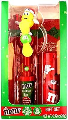 موزع لحلوى الكريسماس من ام اند امز احمر Amazon Ae