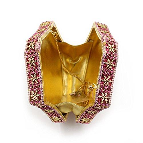 Sac Haut Diamant De Sac De à Banquet Féminin Sac Gamme Soirée Main Luxe A HPWwf6nRwq