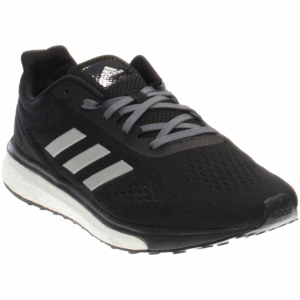 adidas Women's Response LT Running Shoes B01NCOFHHX 8.5 B(M) US Black/Silver Metallic/White