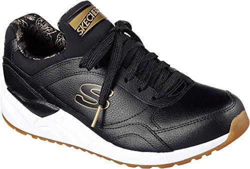 Skechers Dames En 95 Warme Knuffels Slip-on Sneaker Zwart