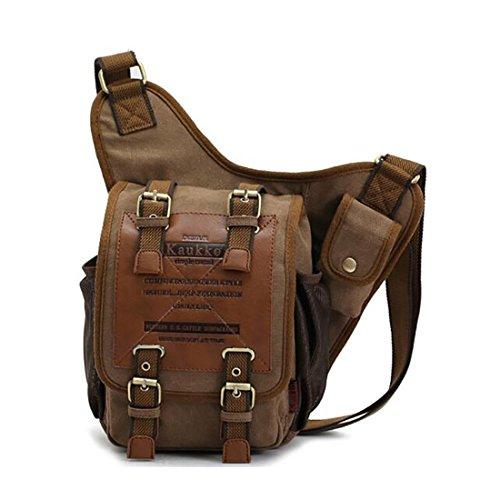 Koola's Bag - Bolso al hombro para hombre, marrón (Marrón) - 1BB000002BXE000000 marrón