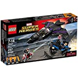 287 Count LEGO Super Heroes Black Panther Pursuit Model#76047 by LEGO
