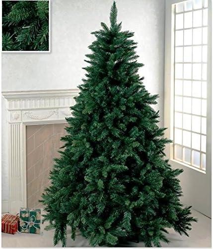 Albero Di Natale 210.Rotex Albero Di Natale Artificiale Verde Super Folto Cm 210 Realistico Mt 2 1 Amazon It Casa E Cucina
