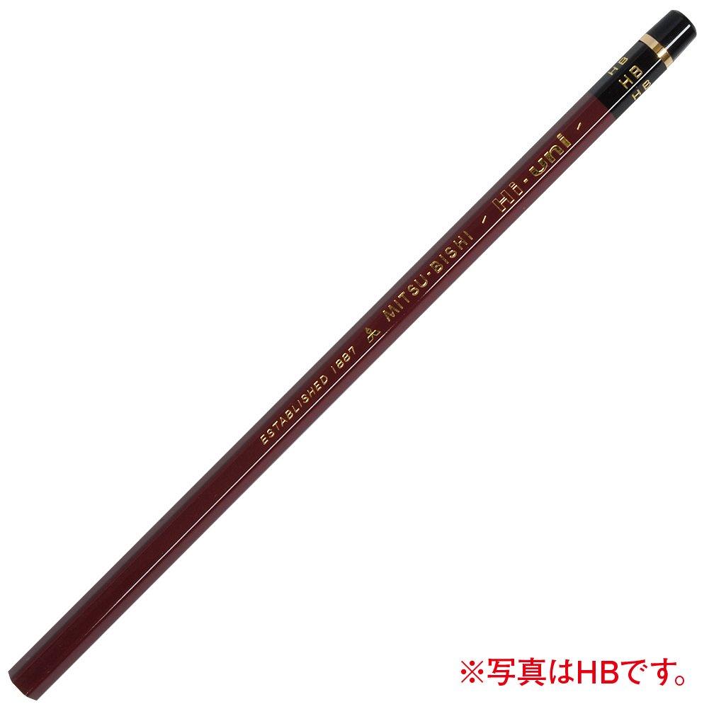 Mitsubishi uni Pencil Hi-Uni Wooden HU9H Black 9H