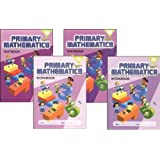 Standards Edition Primary Mathematics 4A & 4B Set [Paperback] - 4A workbook, textbook 4B workbook textbook