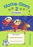 Mathe-Stars - Grundwissen: 2. Schuljahr - Übungsheft: Mit Lösungen