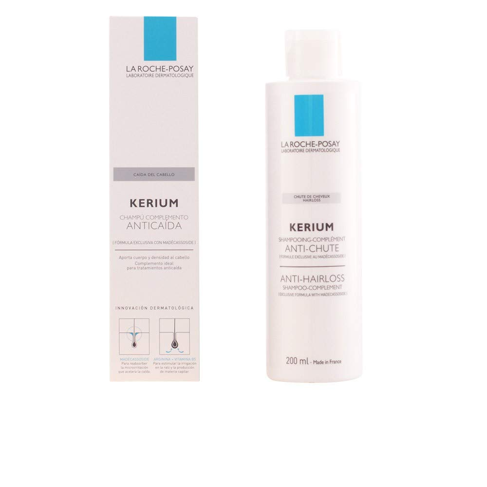 LA ROCHE POSAY KERIUM CHAMPU ANTICAIDA 200 ML: Amazon.es ...