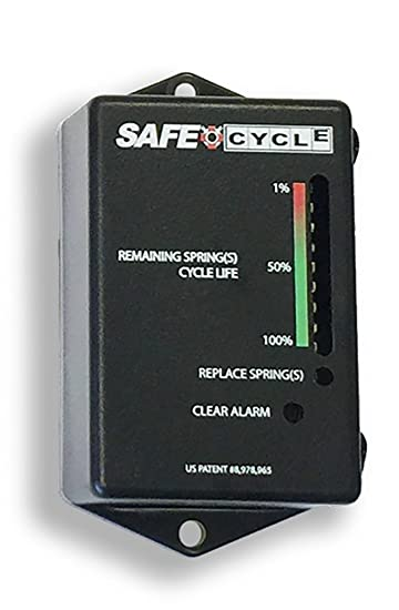 SAFE CYCLE Garage Door Spring Cycle Counter  sc 1 st  Amazon.com & Amazon.com: SAFE CYCLE Garage Door Spring Cycle Counter: Home ...