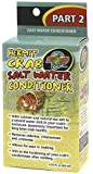 Zoo Med Hermit Crab Salt Water Conditioner, 2.25-Ounce