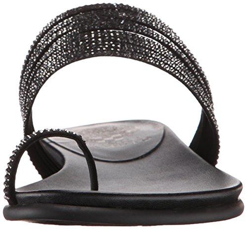 Ring Eriantha Microsuede Sandal Black Toe Women's Camuto Vince q81wHIH