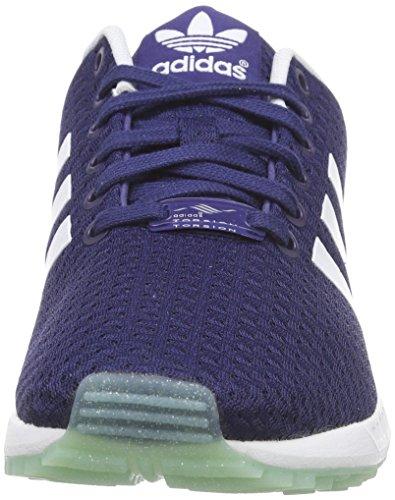 adidas ZX Flux W - Zapatillas para mujer Azul (Ngtsky/Ftwwht/Frogrn)