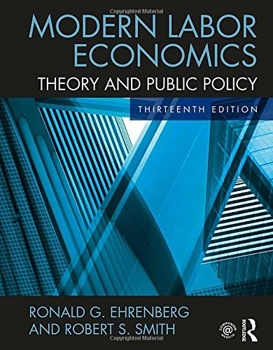 Pdf Politics Modern Labor Economics: Theory and Public Policy