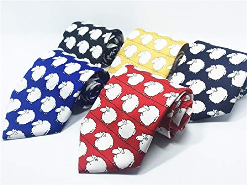 and Navy Formal Comfortable Necktie Printed Great ADream Men's Wedding Occasion for Casual Party 78q48wzHBg
