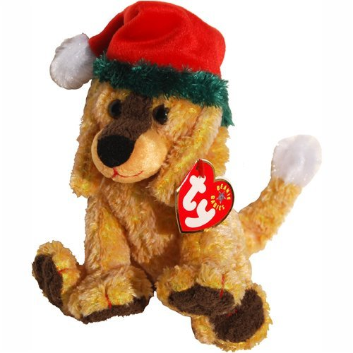Ty Beanie Babies - Jinglepup the Dog with Green Brim