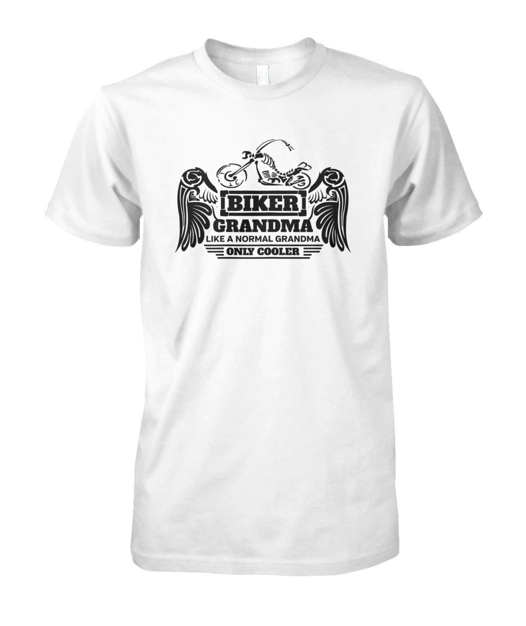 Sweatshirt For Men Women Ladies 458. Womens Biker Grandma Tshirt Gift Idea for a Motorcycle Granny Short Sleeves Shirt Unisex Hoodie