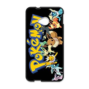 LINGH Anime cartoon Pokemon Cell Phone Case for HTC One M7