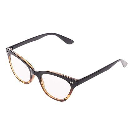 46d8297725e4 Amazon.com: ❤ Classic Womens Cat Eye Reading Glasses Flower Print Vintage  Reader Presbyopic Eyeglasses Clear Lens + 1.0 + 1.5 + 2.0 + 2.5 + 3.0 +  3.5: ...
