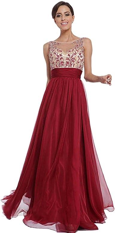 Abiti Donna Eleganti.Homebaby Rosso Abiti Lunghi Donna Eleganti Estivi Vestiti Casual