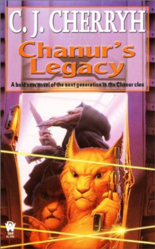 book cover of Chanur\'s Legacy