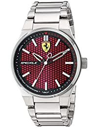 Ferrari Men's 830357 Analog Display Quartz Silver Watch
