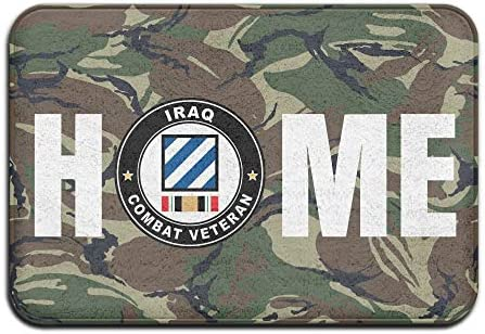 SO HO 3rd Division Operation Iraqi Freedom Combat Veteran Doormats 13×20