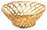 Gilded Aluminum Woven Bowl, Catch-All Storage Basket, Large, 10-inch
