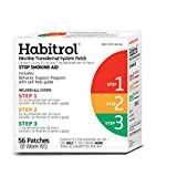 Habitrol Nicotine Transdermal System Stop Smoking Aid Kit; Steps 1,2,3; 56 Patches