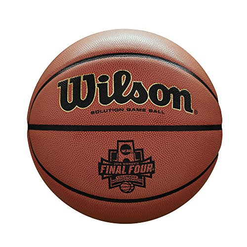 - Wilson Sporting Goods NCAA Women's Final Four Championship Game Ball, Orange Microfiber
