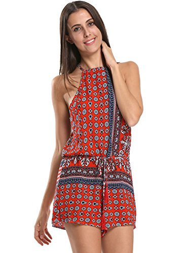Choies Womens Polyester Bohemian Playsuit