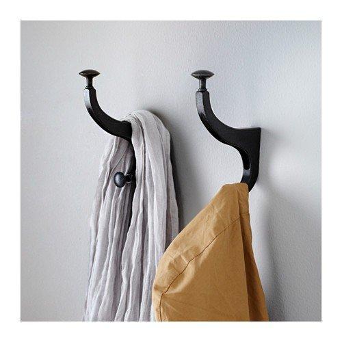 IKEA HEMNES - Hook, antracita - 9 cm: Amazon.es: Hogar