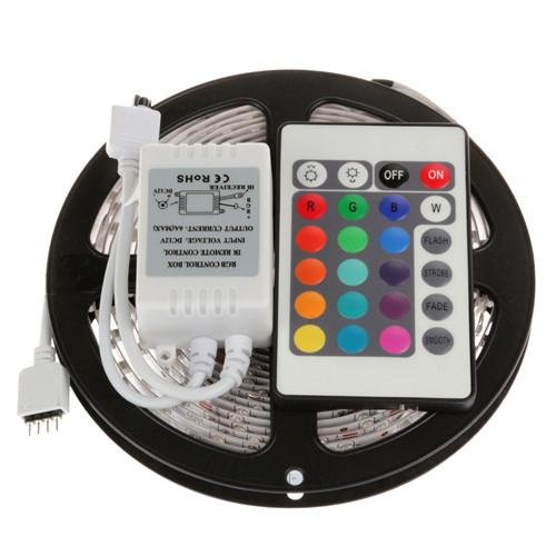 - LightInTheBox LED Strip Lights, Abestbox 16.4ft 5M Waterproof 5050 SMD RGB LED Flexible Strip Light Color Changing Decoration Lighting with 24Key Remote Controller (DC12V)
