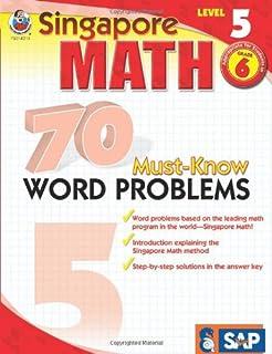 Singapore math practice level 5a grade 6 frank schaffer 70 must know word problems grade 6 singapore math fandeluxe Choice Image