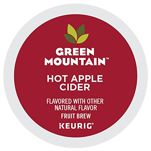 Apple Mountain (Green Mountain Hot Apple Cider single serve K-Cup pods for Keurig brewers, 24 Count)