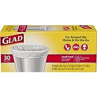 Bolsas de basura pequeñas Glad - 4 galones - 30 unidades
