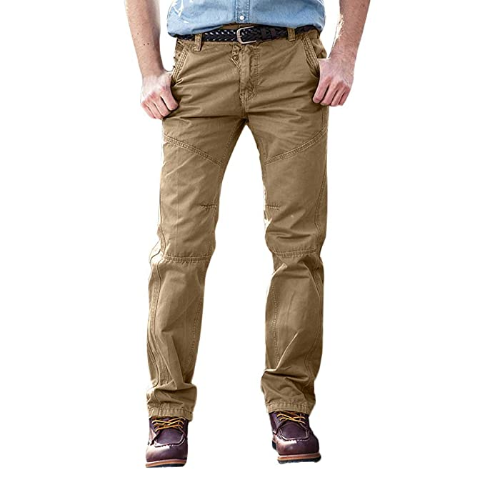 JiaMeng Pantalones Rotos Largos Vaqueros Hombres Vaqueros Pantalones Hippie Harem Pantalones asual Tactical Military Combat Outdoors