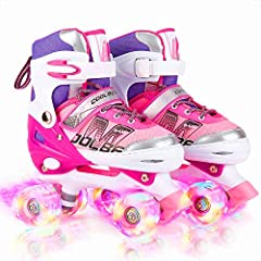 When choosing skates, safety is the most important factor. Double rows of wheels skates, it obvious that much safer and easier to learn, and more suitable for children and beginners. Feeling these different roller skates, give you enough reas...
