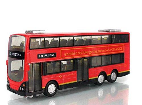 E3 PRISTINA City Bus Diecast Mini Double-decker Bus Toy for Boys 6.3'' (Greyhound Bus Model compare prices)