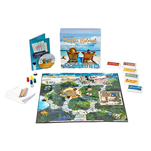 The Gottman Couples Retreat Board Game (Board Game Couples)