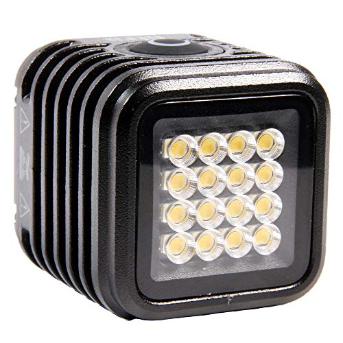 (LitraTorch 2.0 Premium On-Camera Photo and Video Waterproof LED Light)