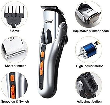 PowerLead cortapelos, afeitadora eléctrica para hombre, navaja ...