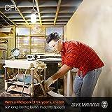 SYLVANIA T2 Twist Light Bulb, 60W