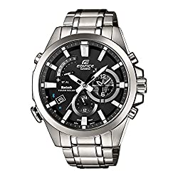 Casio - Edifice - BLUETOOTH SMART - Stainless Steel - Black Dial - EQB510D-1A