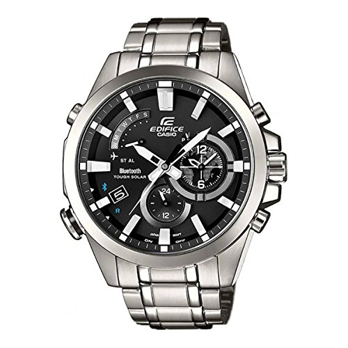 Men's Casio Edifice Tough Solar Stainless Steel Watch (Watches Ebay)