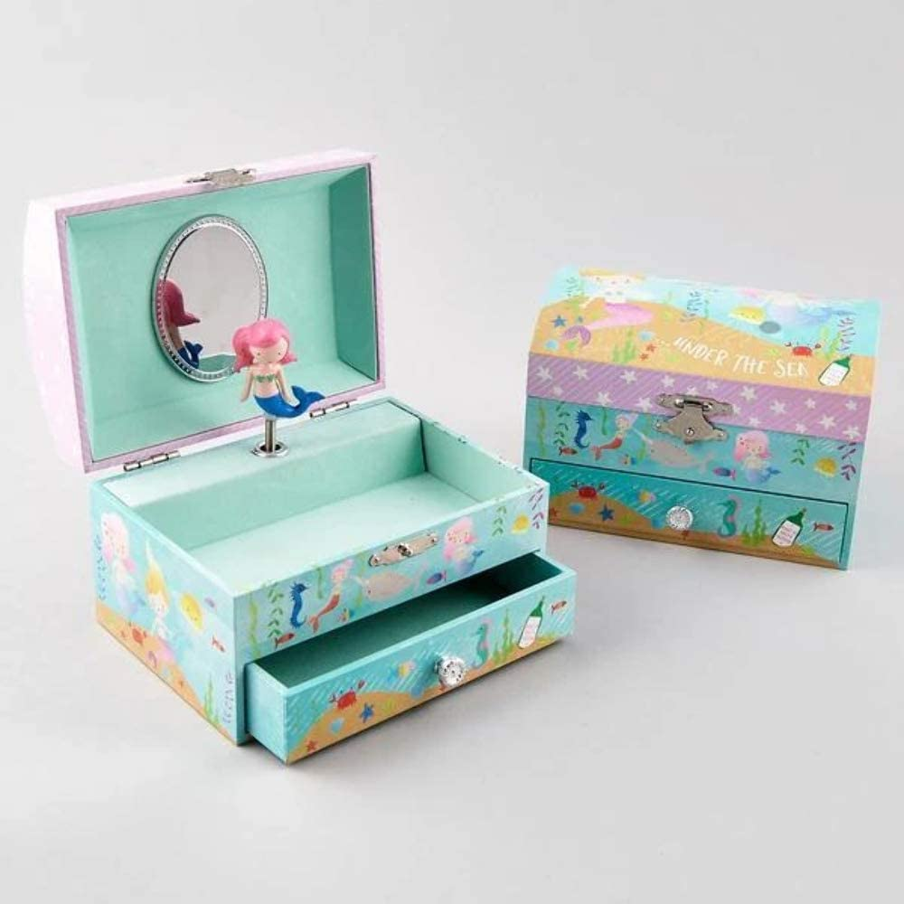 Narwhal  Suitcase Case Keepsake Baby gift box small