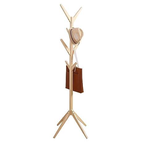 Mioczy - Perchero de pie de Madera con Forma de árbol, con 4 ...