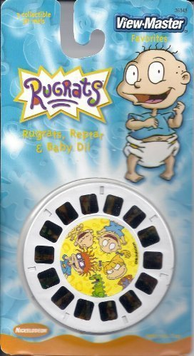 Nickelodeon Rugrats, Reptar & Baby Dill 3d View-Master 3 Reel Set