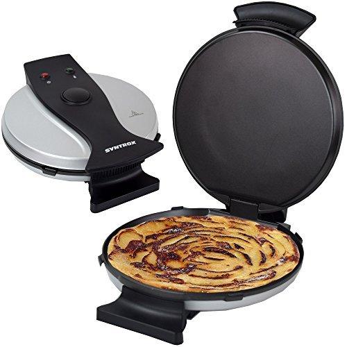 Syntrox Germany Crepe smaker, crespes ferro padella per crepes pankacem Aker OMLETTE Maker Uova torta plinsen Maker patata Puf fermaker