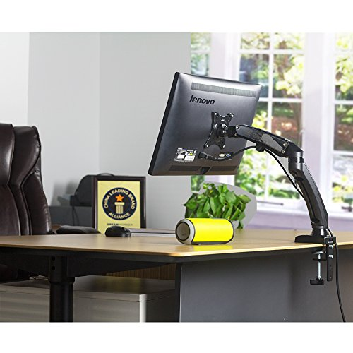 Monitor Arm Desk Mount Single Display Stand Full Motion
