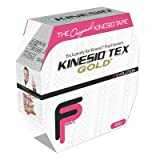 Kinesio Tex Gold FP Kinesiology Tape, 2'' x 34 yds, Red, Bulk Roll