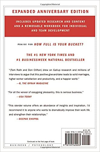 How Full Is Your Bucket?: Tom Rath, Donald O. Clifton ...